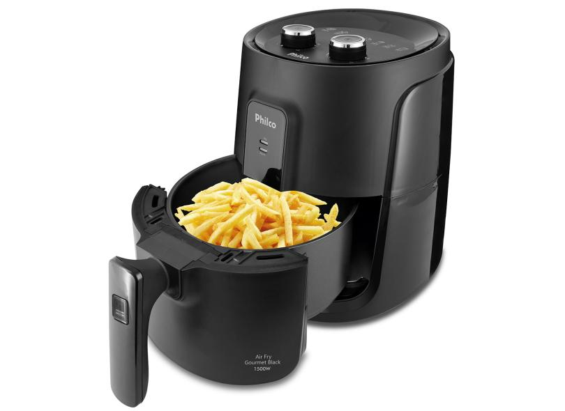 Fritadeira Elétrica Sem óleo Philco Gourmet Black PFR15P 4.0 l 3.2 l