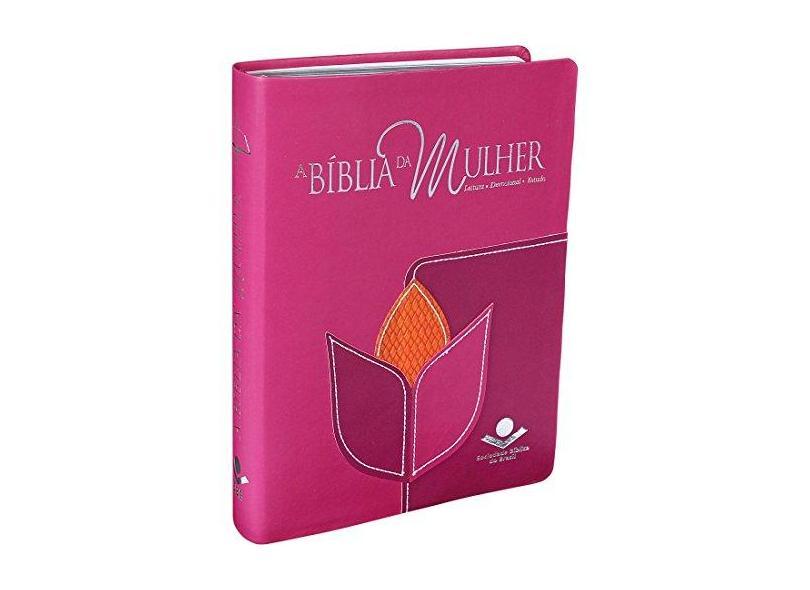 Bíblia da Mulher, A - Leitura, Devocional, Estudo - Arc Novo Formato - Sbb - Sociedade Biblica Do Brasil - 7898521815721