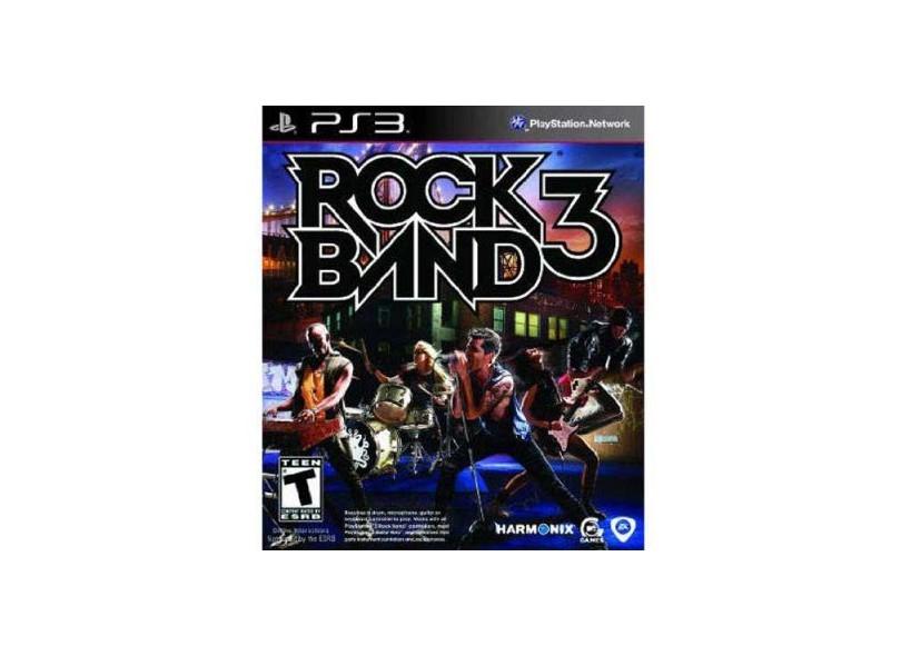 Jogo Rock Band 3 EA PS3
