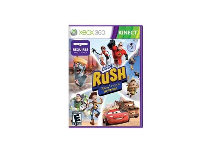 Jogo Kinect Rush Disney Xbox 360