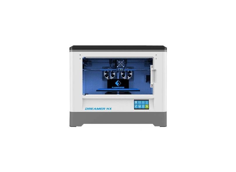 Impressora 3D FlashForge Dreamer NX Jato Plástico (PJP) Colorida