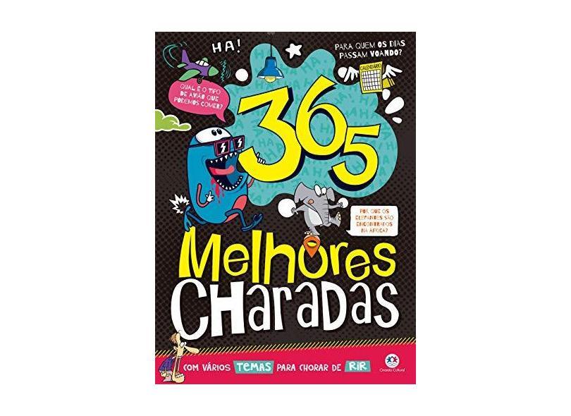 365 melhores charadas - Ciranda Cultural - 9788538076841