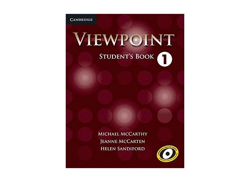Viewpoint Level 1 Student's Book - Capa Comum - 9780521131865