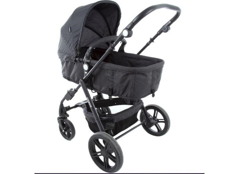 Carrinho de Bebê Travel System com Bebê Conforto Cosco Poppy TS TRIO