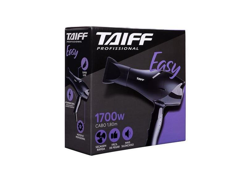 Secador de Cabelo 1700 Watts - Taiff Easy