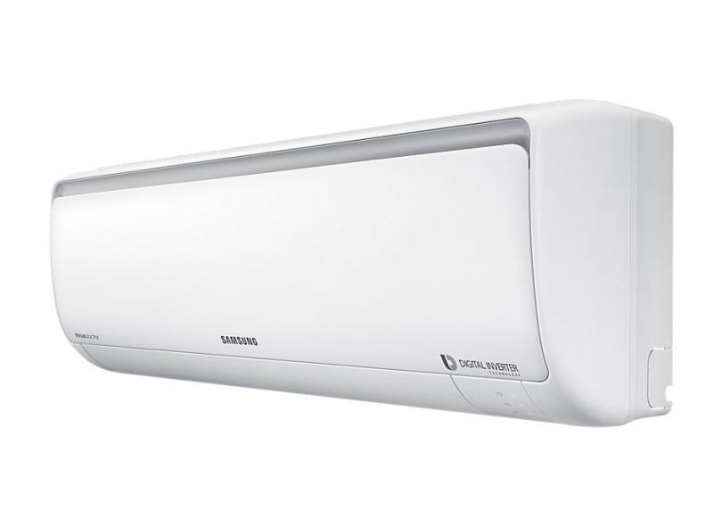 Ar Condicionado Split Hi Wall Samsung 11500 BTUs Inverter Controle Remoto Frio AR12NVFPCWKNAZ