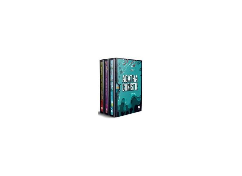 Box - Agatha Christie 8 - 3 Volumes - Christie, Agatha - 9788595080362
