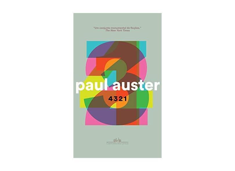 4 3 2 1 - Paul Auster - 9788535931099