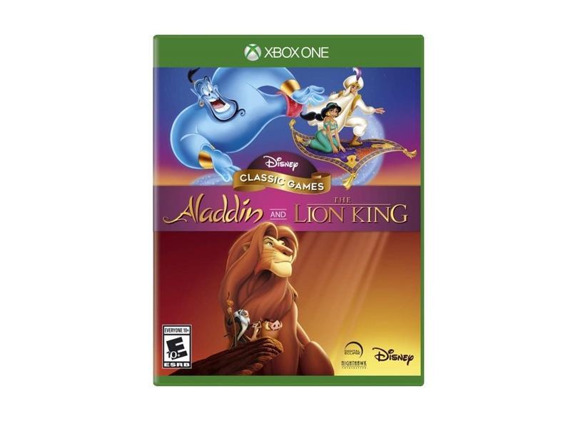 Jogo Disney Classic Games: Aladdin e O Rei Leão Xbox One Disney