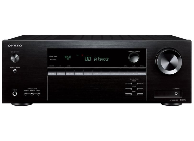 Home Theater Onkyo 155 W 5.1 Canais 5 HDMI HT-S3910-B