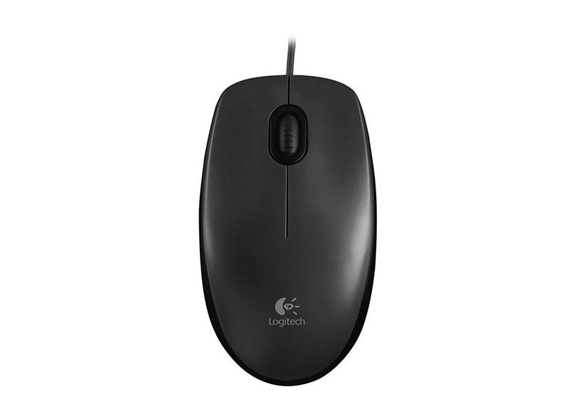 Mouse Óptico M100 - Logitech