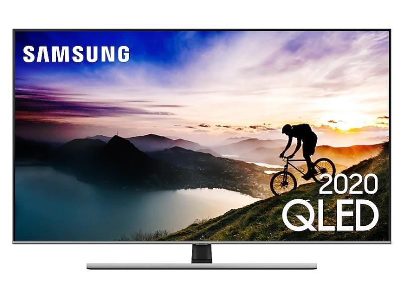 "Smart TV TV QLED 75 "" Samsung 4K HDR QN75Q70TAGXZD 4 HDMI"