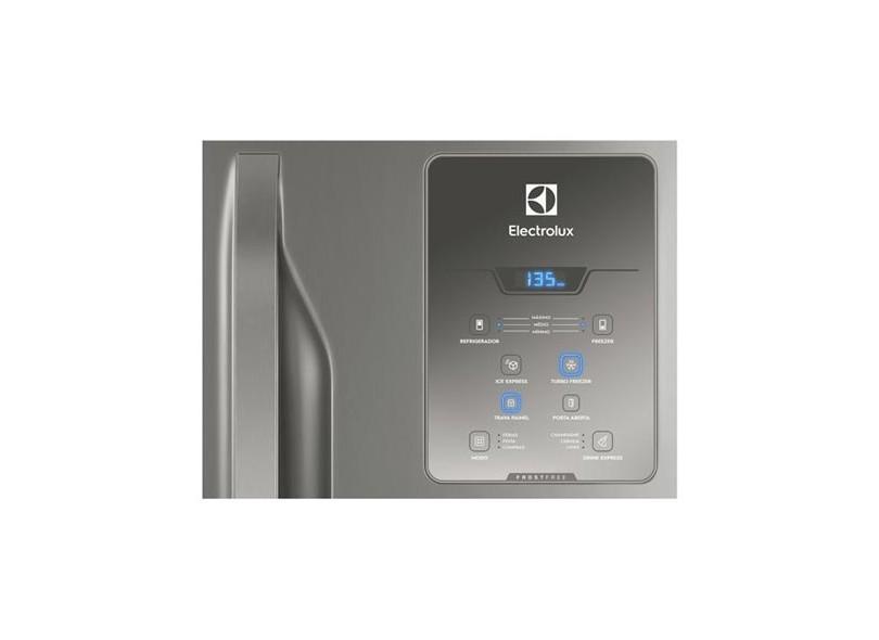 Geladeira Electrolux Bottom Freezer Frost Free Inverse 598 Litros Inox DB84X