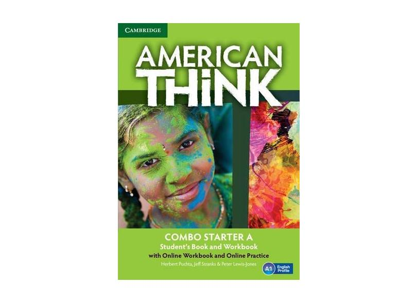 American Think Starter A Combo - Student's Book With Online Workbook And Online Practice - Herbert Puchta; - 9781316500156