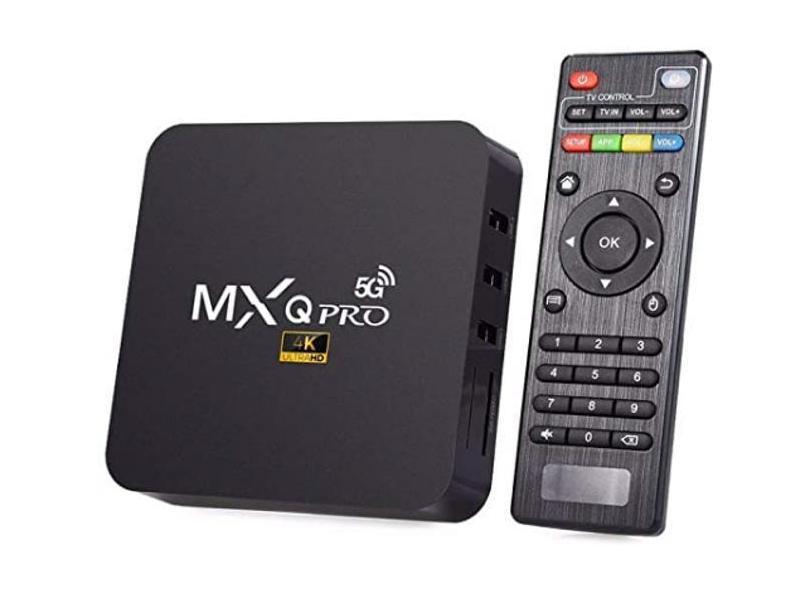 Smart TV Box MXQ Pro 128GB 4K Android TV HDMI USB