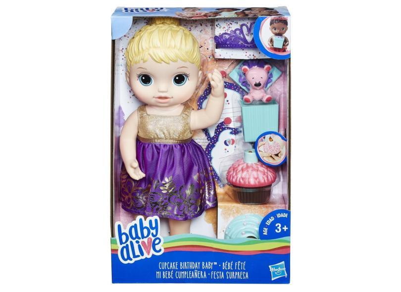 Boneca Baby Alive Festa Surpresa Hasbro
