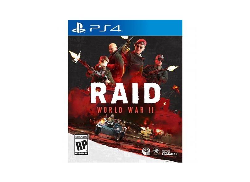 Jogo Raid World War II PS4 505 Games