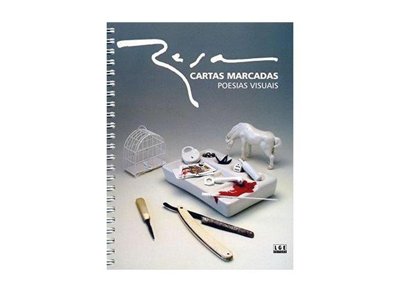 Cartas Marcadas. Poesias Visuais - Luiz Rosa Clementino - 9788572381697