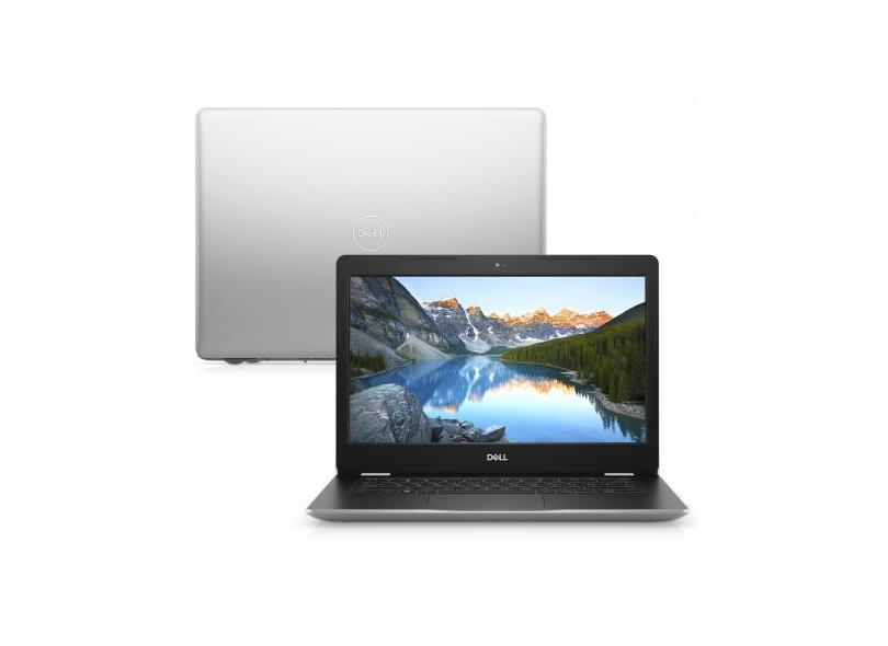 "Notebook Dell Inspiron 3000 Intel Core i3 7020U 7ª Geração 4 GB de RAM 128.0 GB 14 "" Windows 10 I14-3481-M20"