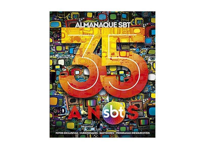 Almanaque SBT 35 Anos - Editora,on Line - 9788543218946