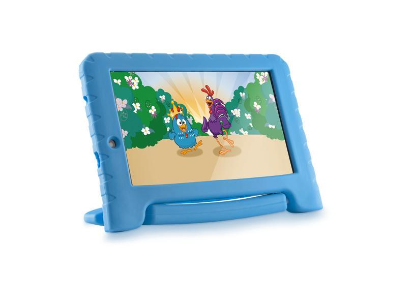 "Tablet Multilaser 16.0 GB IPS 7 "" Android 8.0 (Oreo) 2.0 MP Galinha Pintadinha Plus"