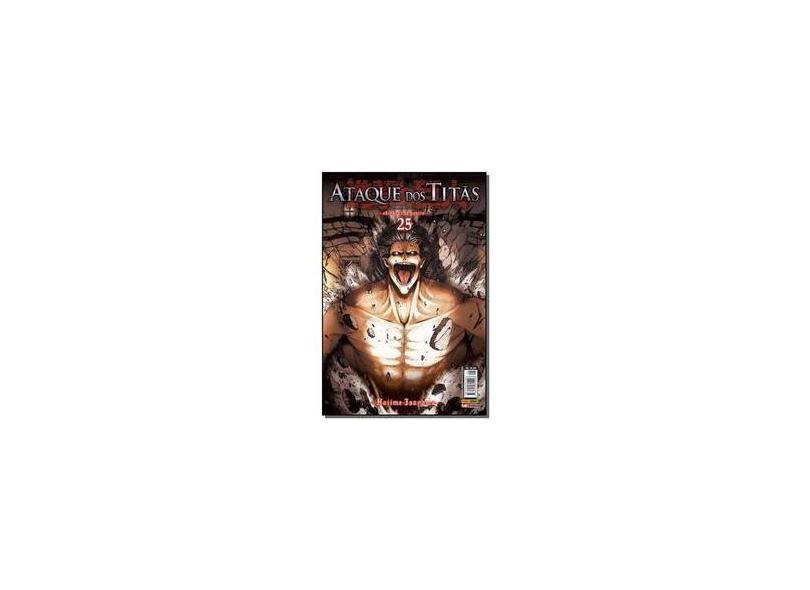 Ataque dos Titãs - Volume 25 - Hajime Isayama - 9788542615098
