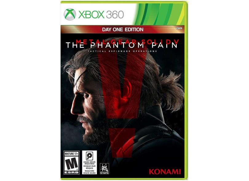 Jogo Metal Gear Solid V: The Phantom Pain Xbox 360 Konami