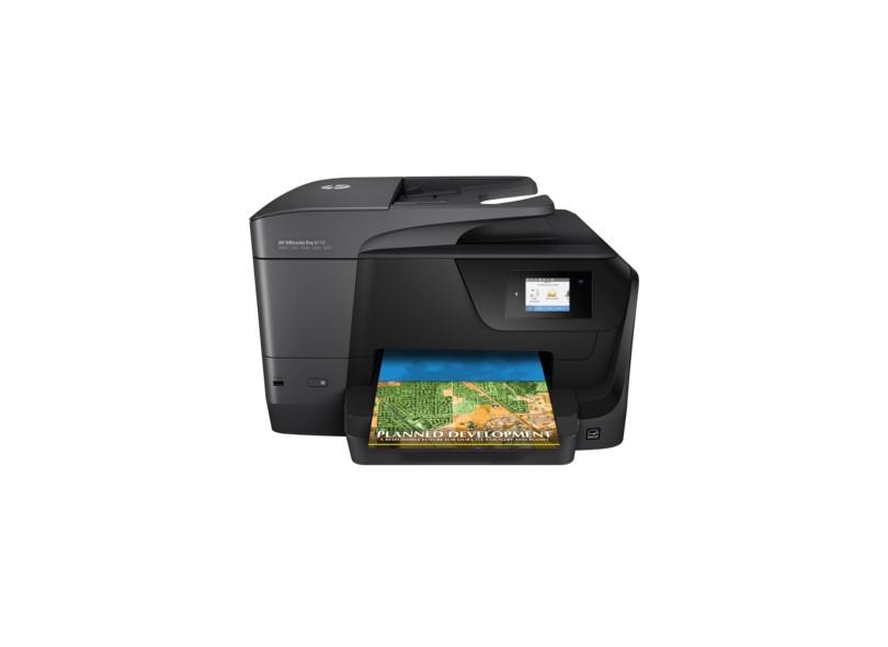 Multifuncional HP Officejet Pro 8710 Jato de Tinta Colorida Sem Fio