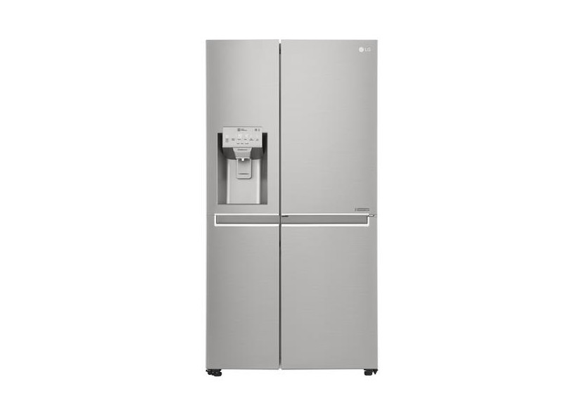 Geladeira LG Frost Free Side by Side 601 l Escovado New Lancaster GS65SDN