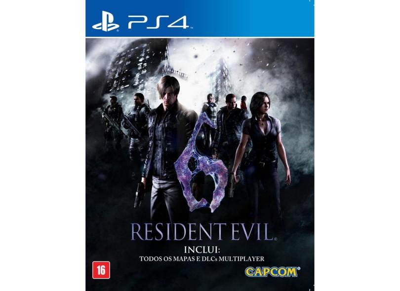 Jogo Resident Evil 6 PS4 Capcom