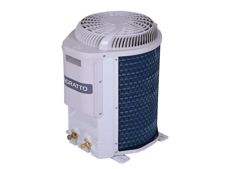 Ar-Condicionado Split Hi Wall Agratto Eco 12000 BTUs Inverter Controle Remoto Quente/Frio EICST12QFIR4 / EICST12QFER4