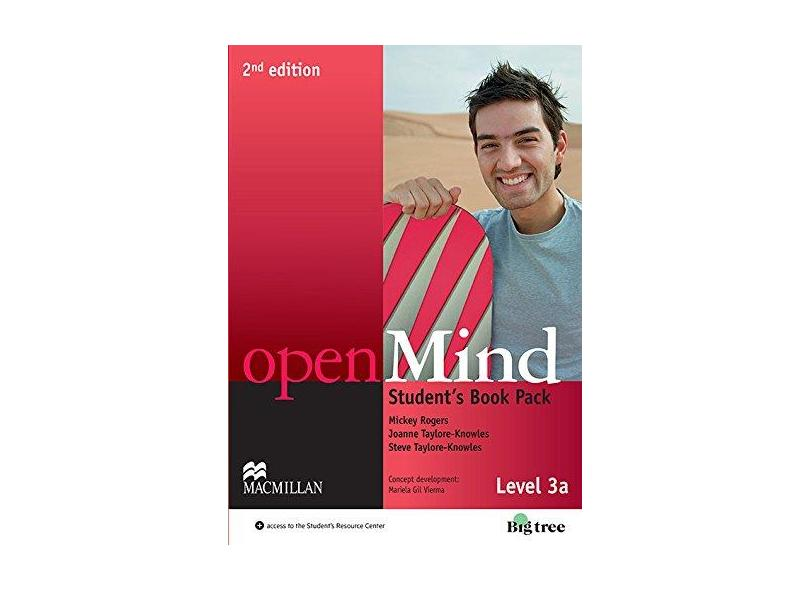 Openmind 3A - Student's Pack With Workbook - 2Nd Edition - Joanne Taylore-knowles; Mickey Rogers; Steve Taylore-knowles - 9786685726657