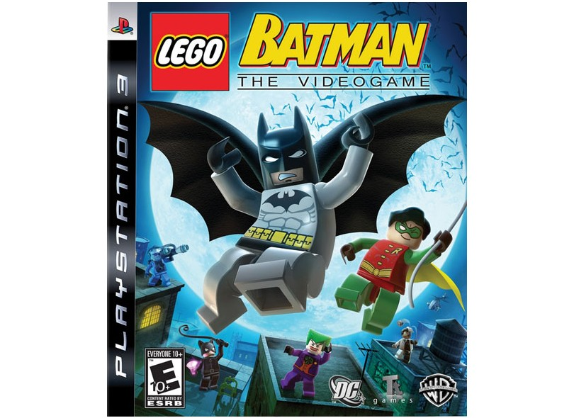 Jogo Lego Batman Warner Bros PS3