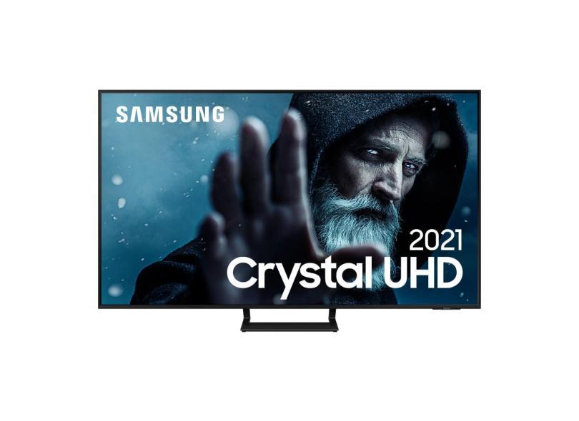 """Smart TV TV LED 55 """" Samsung Crystal 4K HDR 55AU9000"""