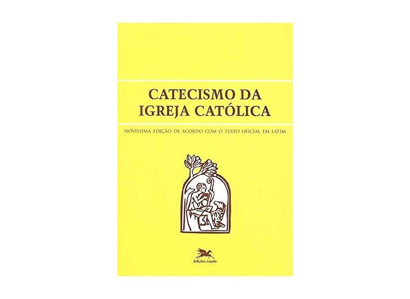 Catecismo Da Igreja Católica - Capa Comum - 9788515021529