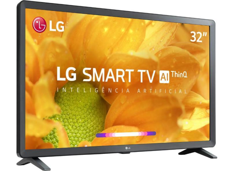 """Smart TV TV LED 32"""" LG ThinQ AI HDR 32LM625BPSB 3 HDMI"""