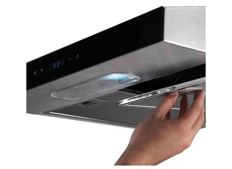 Depurador de Ar Parede Suggar 80 cm Slim Touch Inox