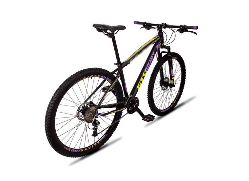 Bicicleta Mountain Bike GT SPRINT MTB 27 Marchas Aro 29 Suspensão Dianteira a Disco Hidráulico Volcon