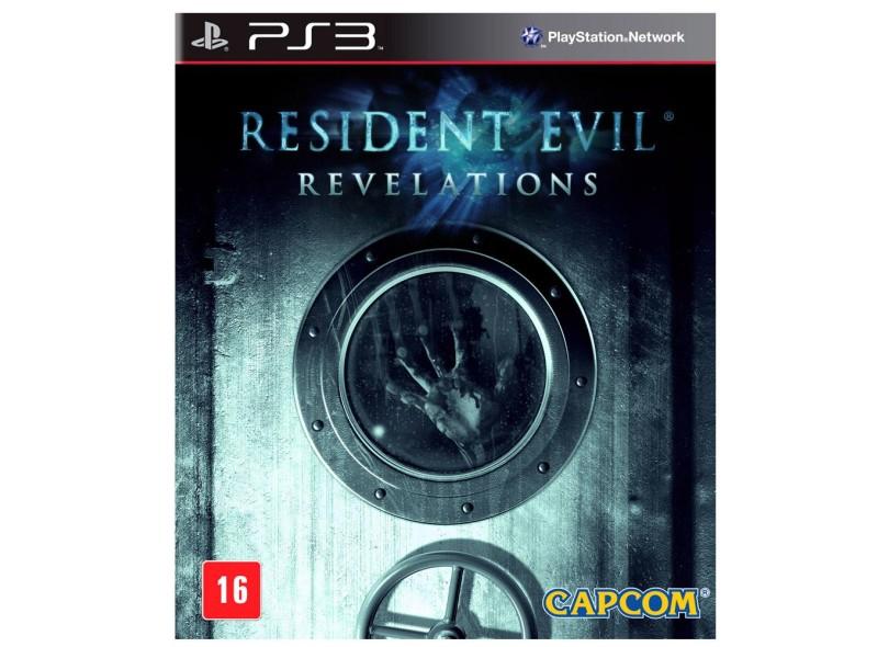 Jogo Resident Evil: Revelations PlayStation 3 Capcom
