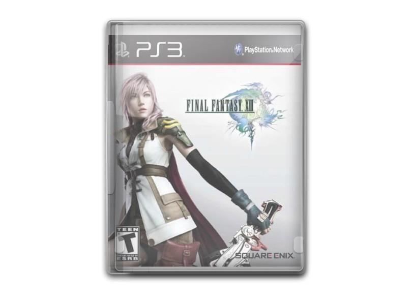 Jogo Final Fantasy XIII Square Enix PS3