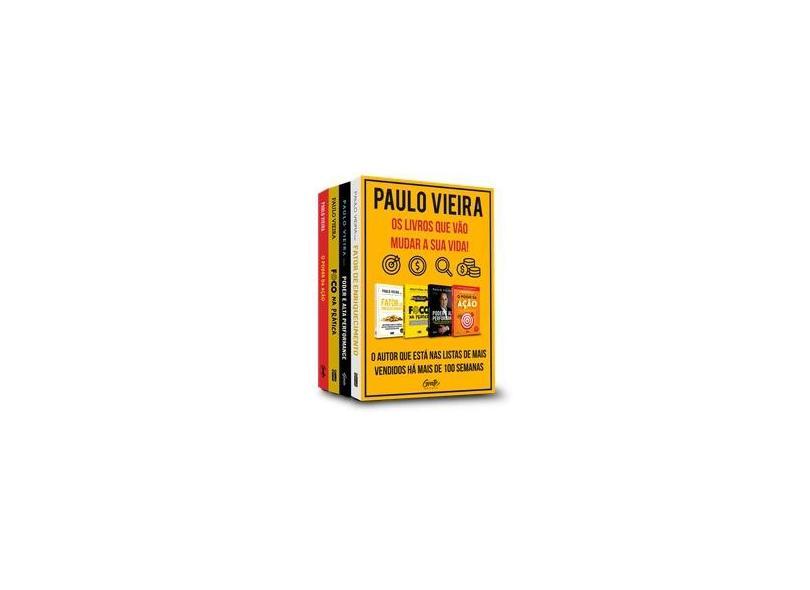 Box - Paulo Vieira - 4 Volumes - Vieira,paulo - 9788545202158