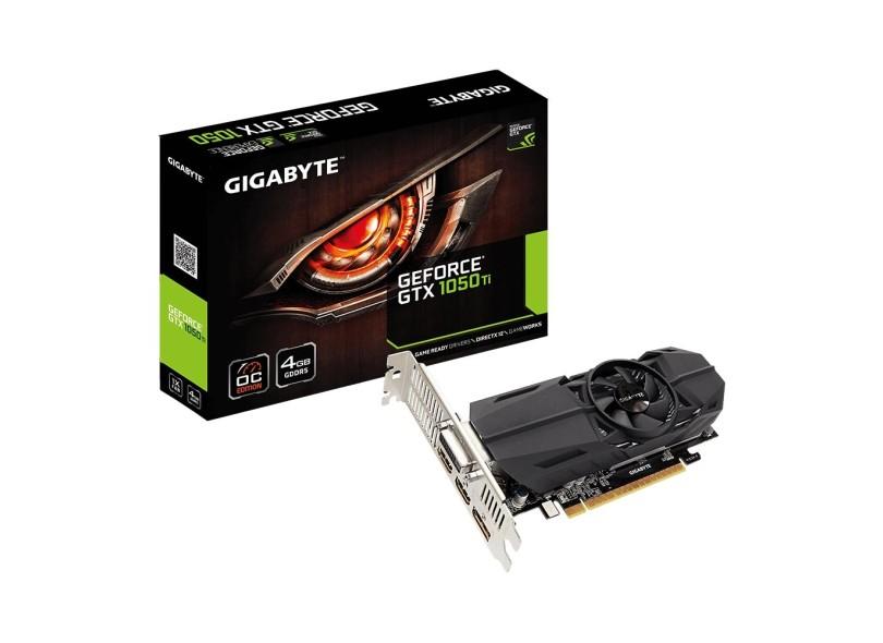 Placa de Video NVIDIA GeForce GTX 1050 Ti 4 GB GDDR5 128 Bits GigaSat GV-N105TOC-4GL