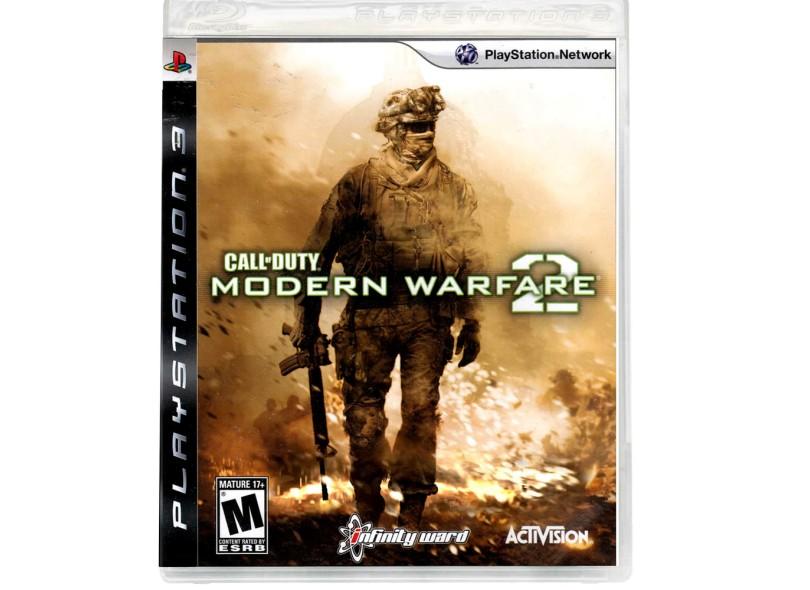 Jogo Call of Duty: Modern Warfare 2 Activision PS3