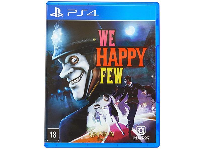 Jogo We Happy Few PS4 Gearbox