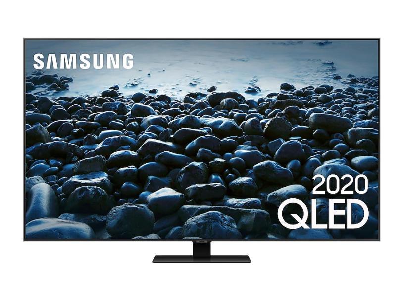 """Smart TV TV QLED 55 """" Samsung Q80T 4K QN55Q80TAGXZD 4 HDMI"""