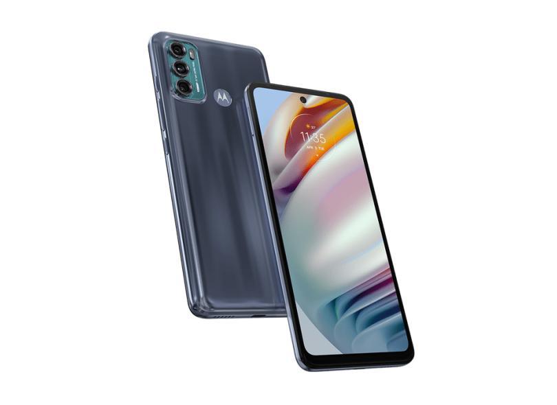 Smartphone Motorola Moto G G60 128GB Câmera Tripla Câmera Tripla 2 Chips Android 11