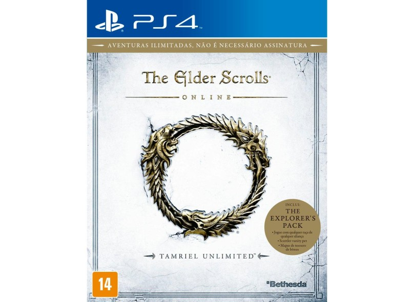 Jogo The Elder Scrolls Online PS4 Bethesda