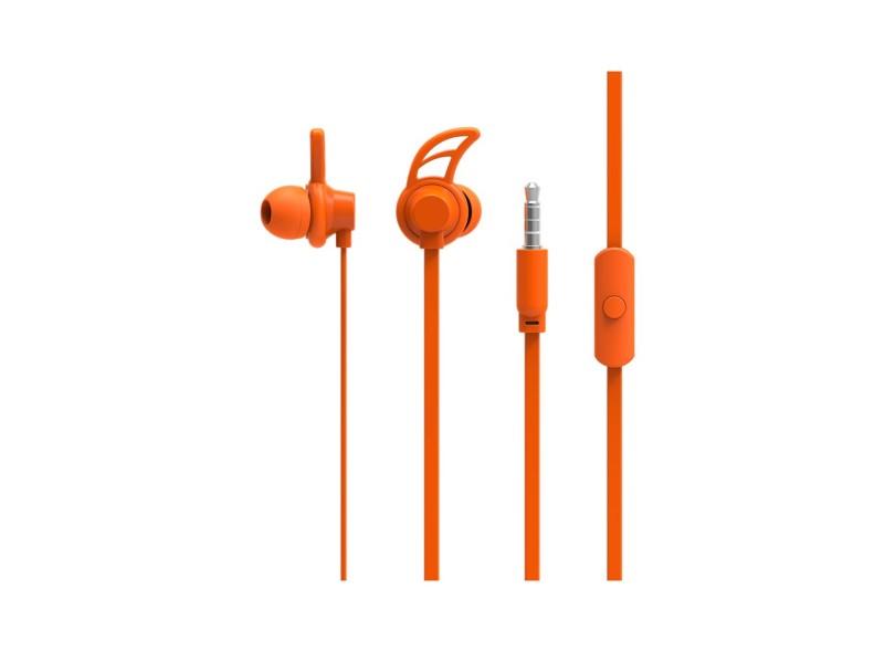 Fone de Ouvido com Microfone Multilaser Sport Neon Series Hook