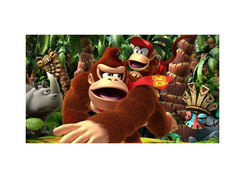 Jogo Donkey Kong Country Returns 3D Nintendo Nintendo 3DS