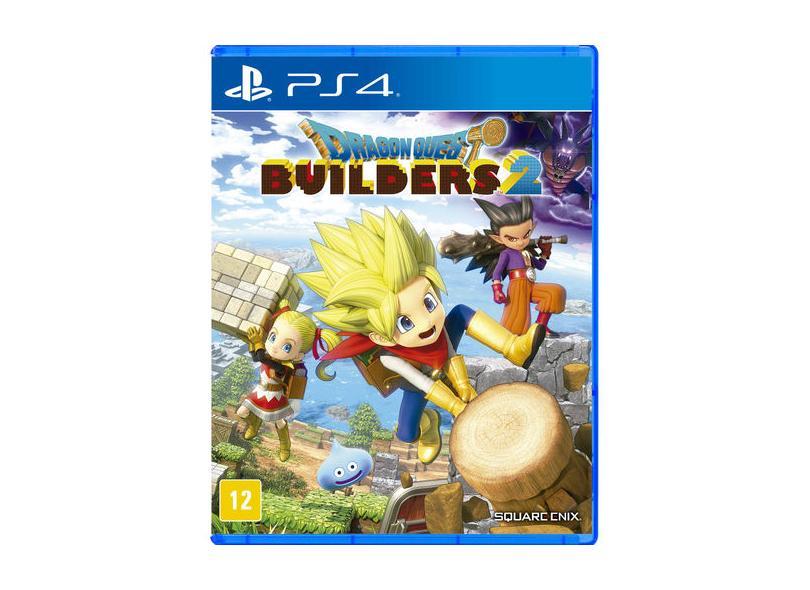 Jogo Dragon Quest Builders 2 PS4 Square Enix